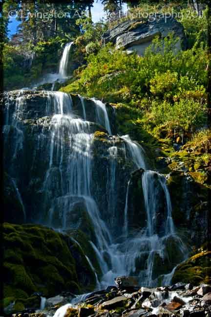 Crater Lake Vidae Falls