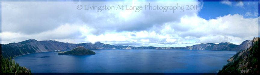 Crater Lake Panorama 1