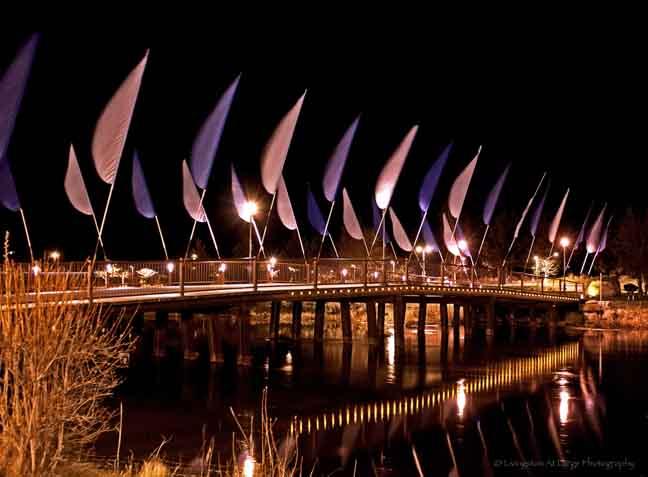 Old MIll Walking Bridge