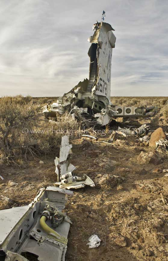 Oregon Airplane Wrecks