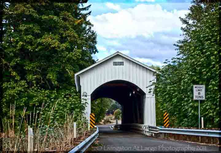 Oregon Covered Bridges-Mosby Creek