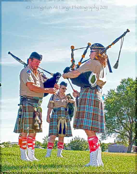 Celtic Festival-pipers