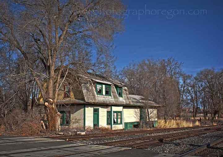 Gateway Oregon train station