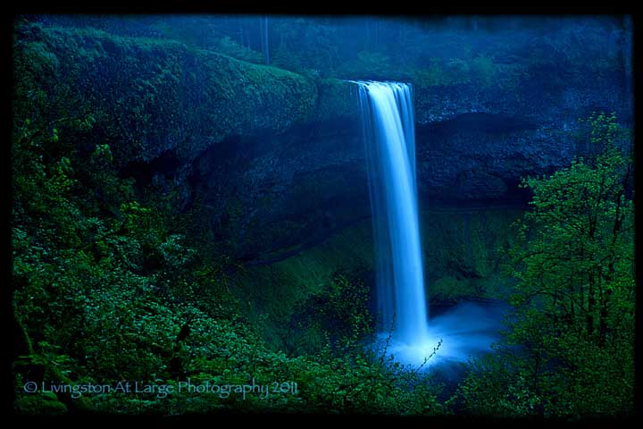 Waterfalls Willamette Valley - Oregon waterfalls map
