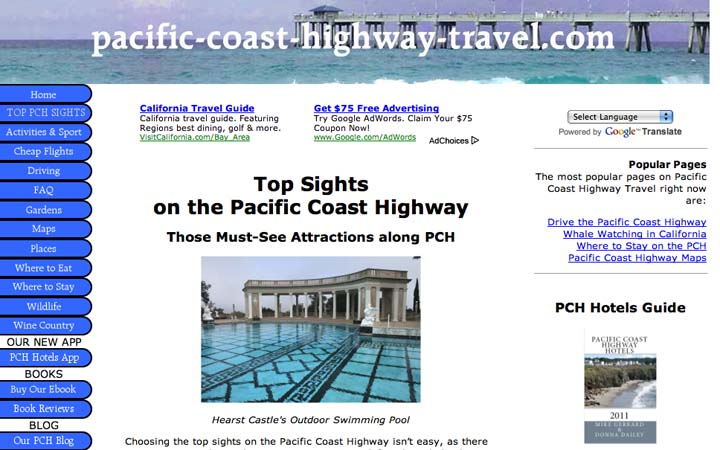 Pacific Coast Travel