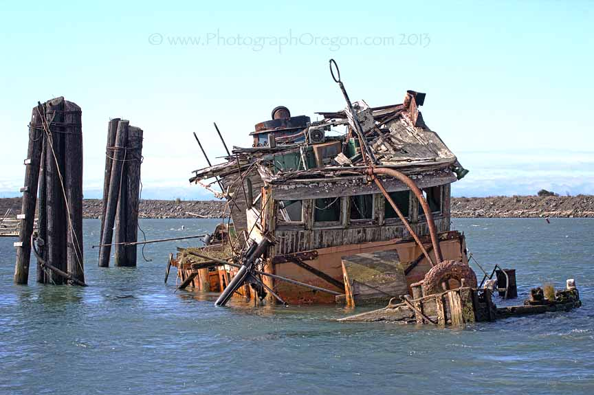 Oregon Shipwrecks