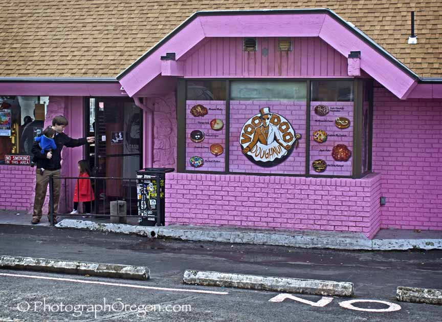 Voodoo Doughnuts And Wedding Chapel