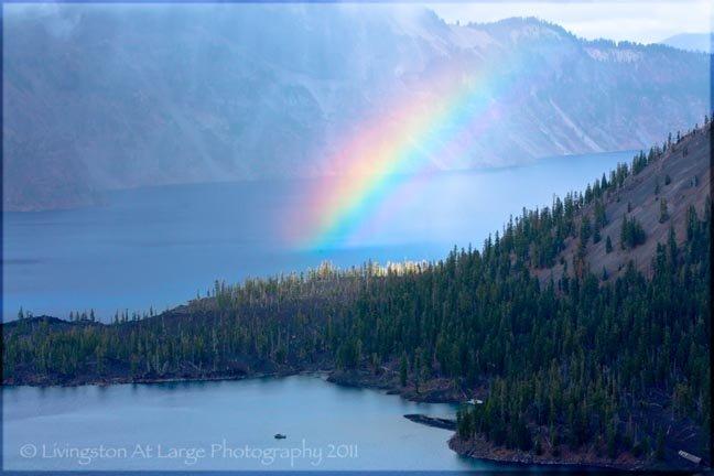 Crater Lake Rainbow