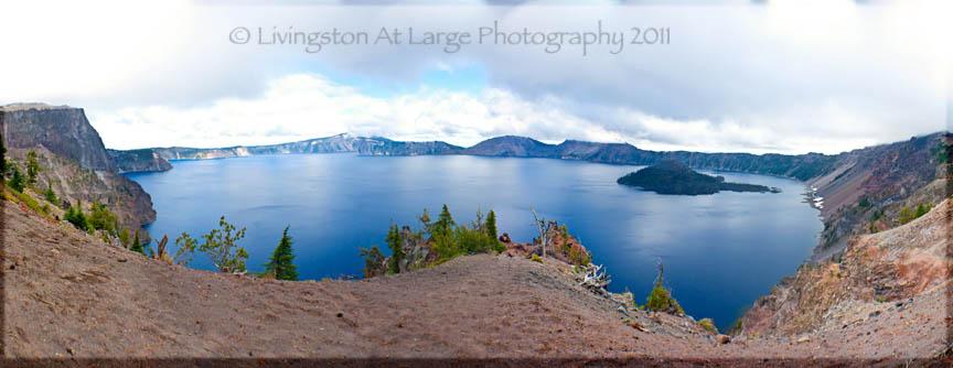 Crater Lake Panorama 2