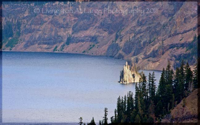 Crater Lake ship rock