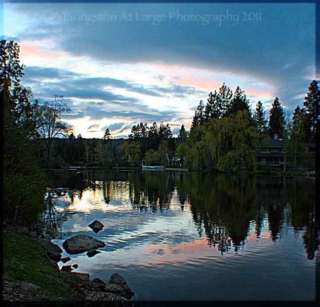 Drake Park Sunset