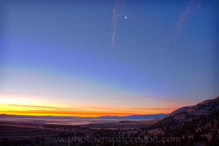 east Oregon sunrise