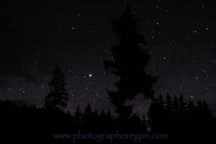 Oakridge Oregon starscape