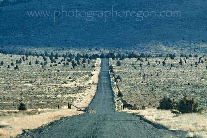 Millican Oregon road