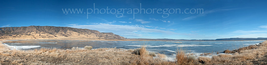 Summer Lake Pano